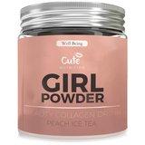 Cute Girl powder peach ice tea