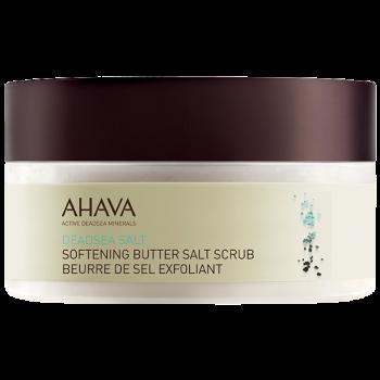Softening butter salt scrub