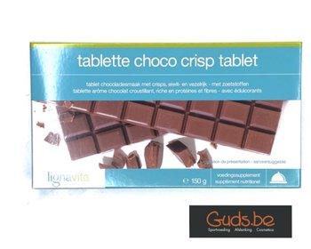 Chocolade crisp tablet