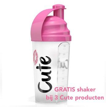 GRATIS Cute Shakebeker bij 3 Cute producten