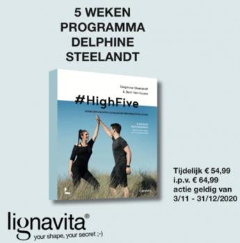 boek 5 weken programma Delphine Steelandt #HighFive