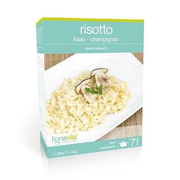 Risotto kaas champignons