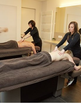 Lichaamsmassage & modderpakking (1u45)