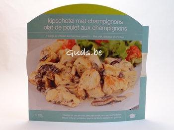 Schotel kip met champignons