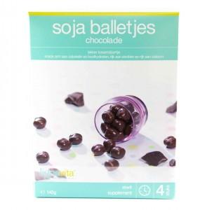 Soja balletjes chocolade