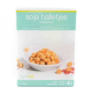 Soja balletjes barbecue
