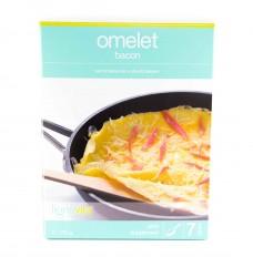 Omelet bacon
