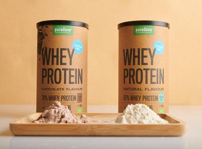Purasana Whey Protein Lactosevrij