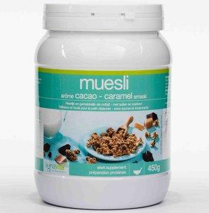 Lignavita muesli cacao-caramel pot