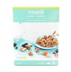 Lignavita muesli cacao caramel 7stuks